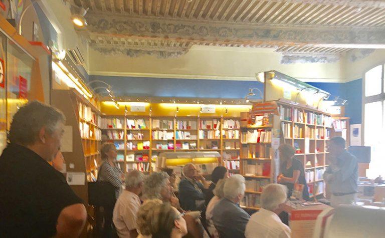 Retour sur la Rencontre dédicace du 10 juin 2017-Librairie de Provence-Gérard Bramoullé
