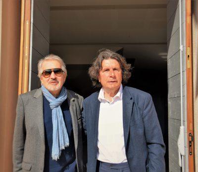 Marc Ross aux côtés de Georges De Rivas le 19 mars 2017 à Solliès-Pont