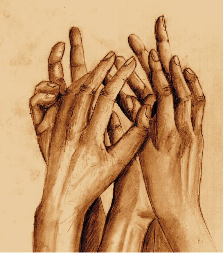 À paraître Des mains unies à l'invisible