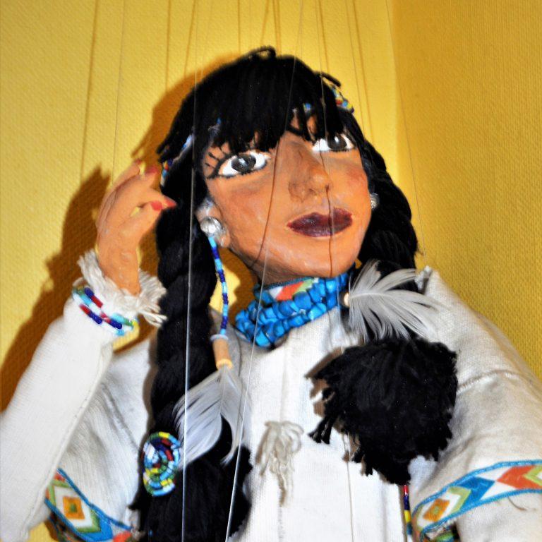Une marionnettiste pour nous enchanter le 20 octobre à Éguilles