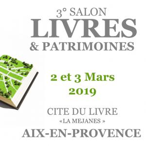 Les Éditions Prolégomènes seront au Salon «Livres et Patrimoines» à La Cité du Livre à Aix-en-Provence
