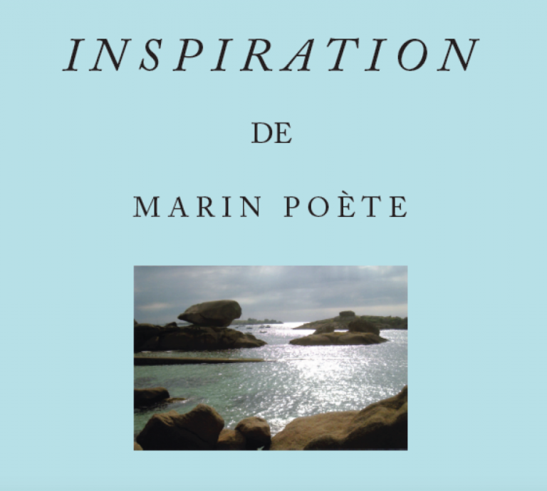 À paraître Inspiration de Marin Poète Jean-Claude LE BARDE
