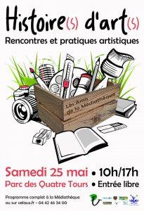 Histoire(s) d'Art(s) samedi 25 mai à Velaux