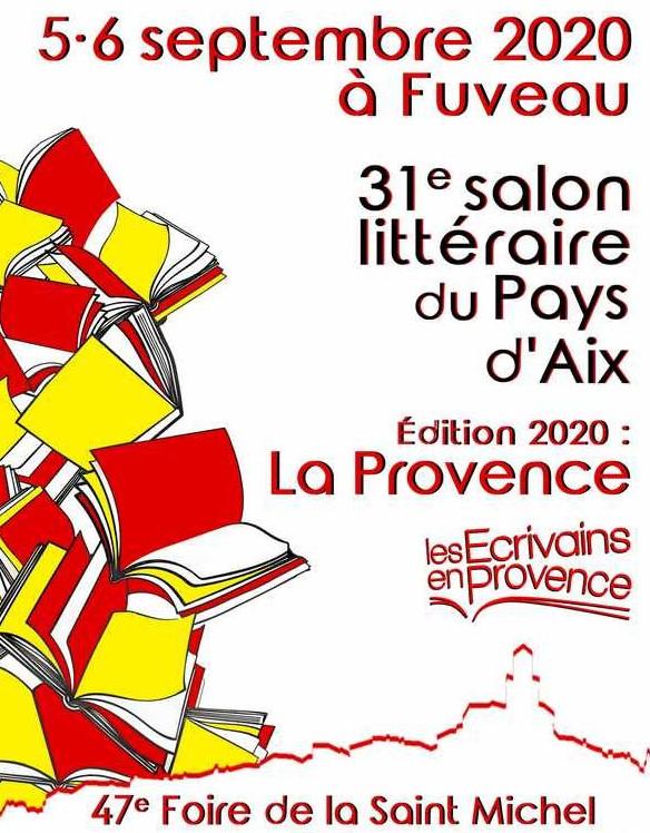 Les écrivains en Provence Salon de Fuveau 2020