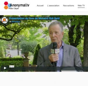 Mohand Sidi Saïd sur Anonymal TV interview