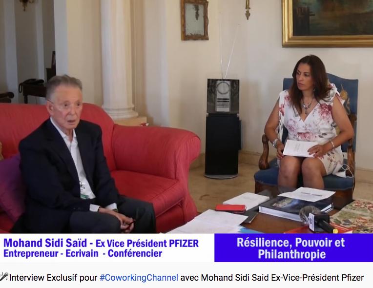 Mohand Sidi Saïd interview sur coworking channel
