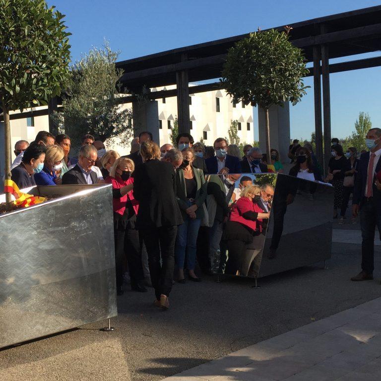 Inauguration de l'Oliveraie Mozart à Aix-en-Provence avec Mohand Sidi Saïd