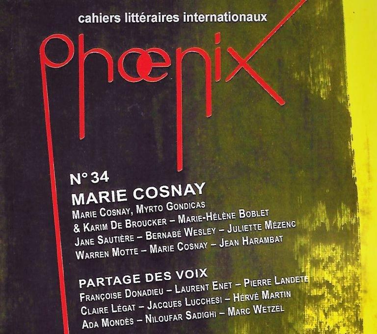 Revue Phoenix N°34 Parmi les égarés de Marc ROSS